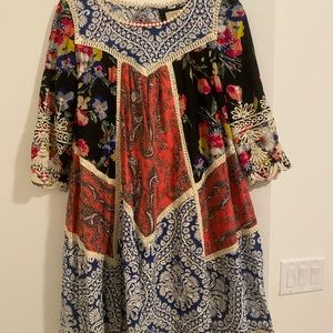 Anthropologie Floral Dress